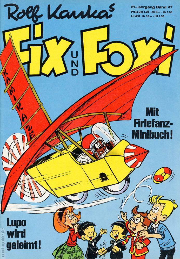 Comic Guide Fix Und Foxi