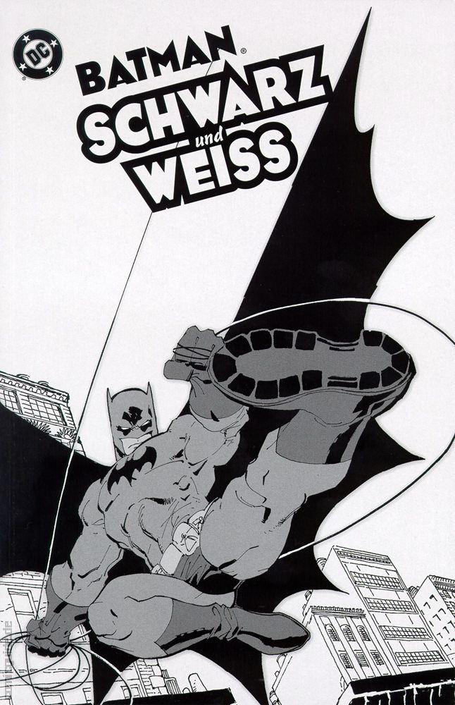 Batman schwarz-weiß