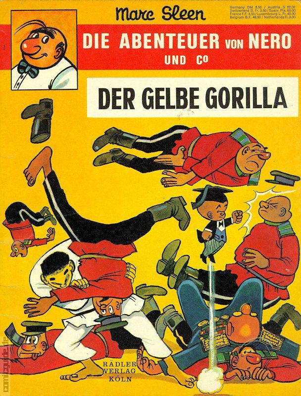 Rädler Verlag 1972-1973 Die Abenteuer von Nero und Co #  2 Themen Comics